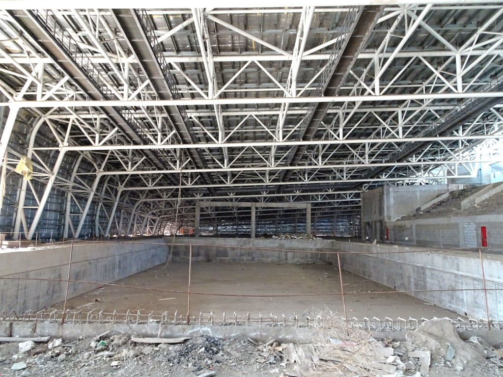 Olympic-size pool, Sport Center, Jan 2016