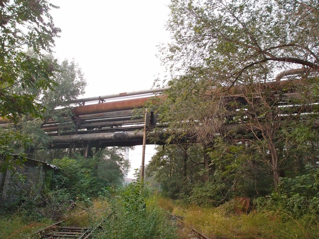 Farewell to the old railway