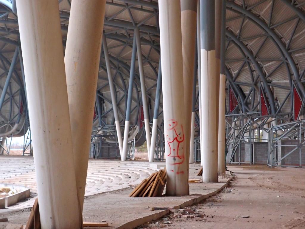 Stadium pillars