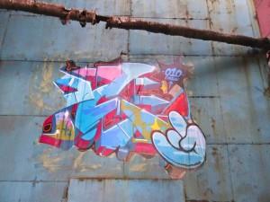 Graffiti under the furnace