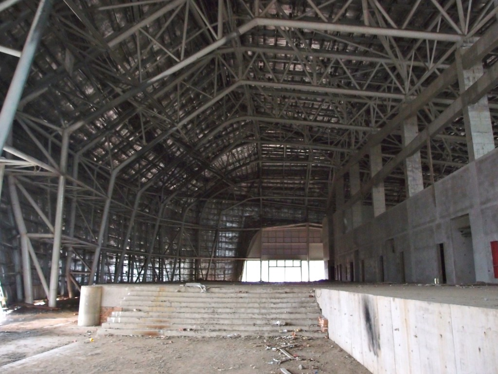 Third unfinished gymnasium