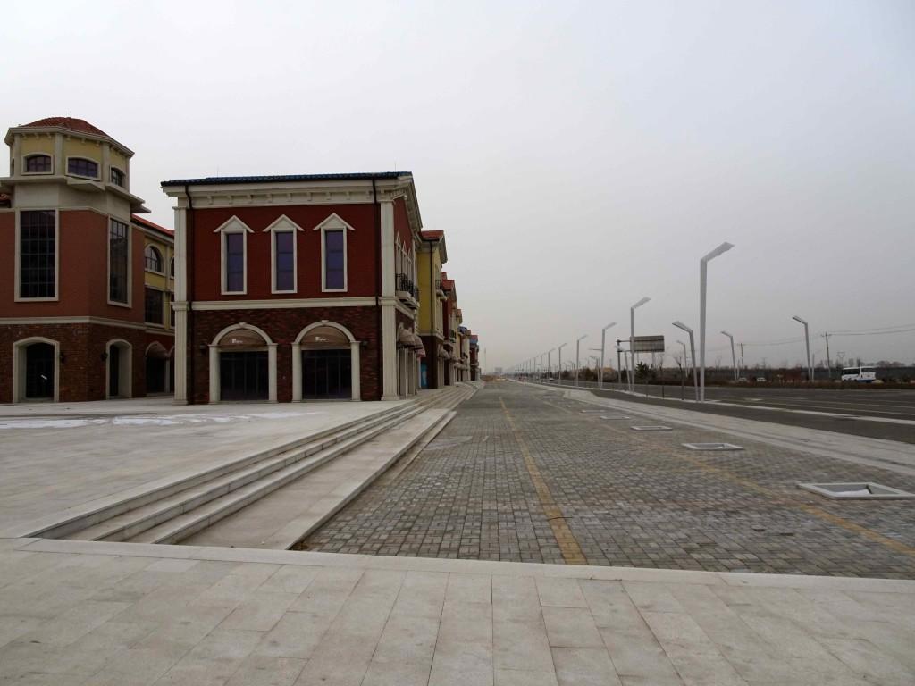empty planned street