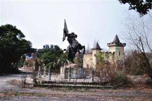 horse statue in 2012